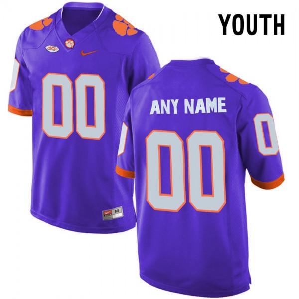 clemson tigers youth football jerseys